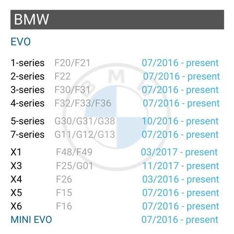 Безпровідний CarPlay та Android Auto адаптер для BMW з EVO Прев'ю 1