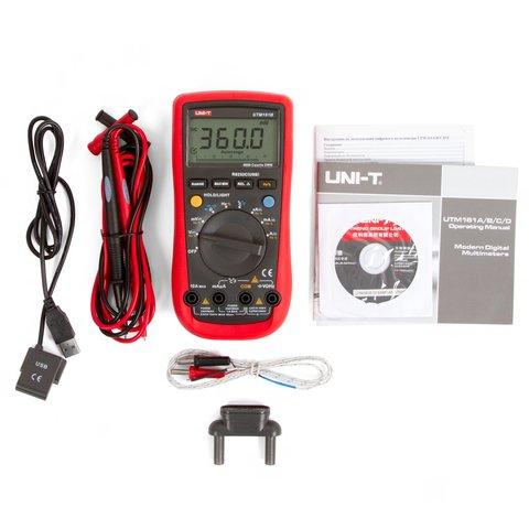 Цифровий мультиметр UNI-T UTM161B (UT61B) Прев'ю 2