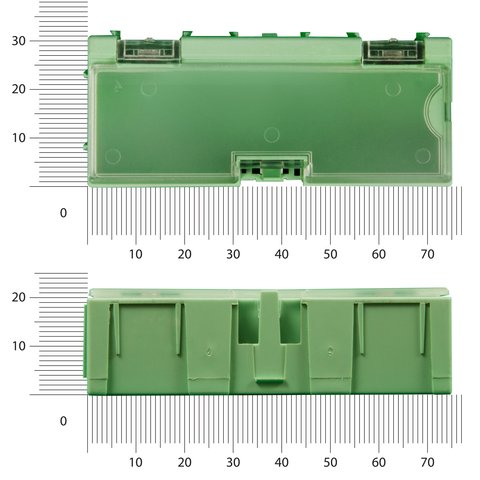 Касетниця набірна WENTAI 75х32х22 мм (1 шт.) Прев'ю 2