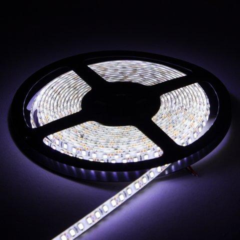 Світлодіодна стрічка SMD2835 (над'яскрава, монохромна, холодний білий, 120 світлодіодів/м, 5 м, IP65) Прев'ю 2