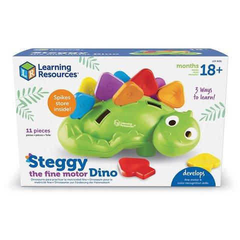 Обучающий игровой набор-сортер Learning Resources Стегги Динозаврик Превью 3