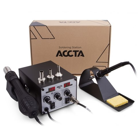 Hot Air Rework Station Accta 301A (110 V) - Preview 9