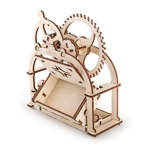 Mechanical 3D Puzzle UGEARS Business Card Holder Preview 4